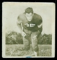 Bill Clarke 1956 Parkhurst football card