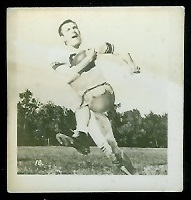 Bob Marlow 1956 Parkhurst football card