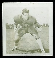 Frank Anderson 1956 Parkhurst football card