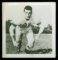 Gordon Sturtridge 1956 Parkhurst football card