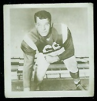 Alex Macklin 1956 Parkhurst football card