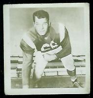 Alex Macklin 1956 Parkhurst football card