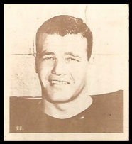 Duke Cook 1956 Parkhurst football card