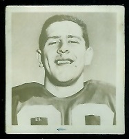 Bill Stevenson 1956 Parkhurst football card