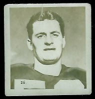 Pete Maxwell-Muir 1956 Parkhurst football card