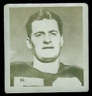 Peter Maxwell-Muir 1956 Parkhurst football card