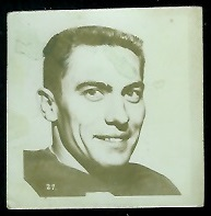 Harvey Wylie 1956 Parkhurst football card