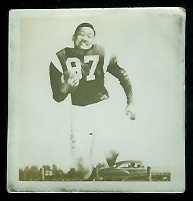 Joe Yamauchi 1956 Parkhurst football card