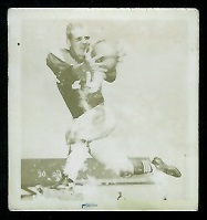 Bill McKenna 1956 Parkhurst football card