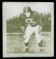Ed Kotowich 1956 Parkhurst football card