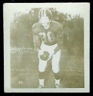 Buddy Leake 1956 Parkhurst football card