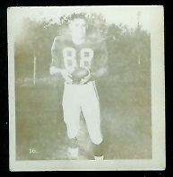 Bob McNamara 1956 Parkhurst football card