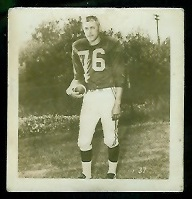 Bud Grant 1956 Parkhurst football card