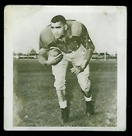 John Bright 1956 Parkhurst football card