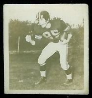 Lorne Benson 1956 Parkhurst football card