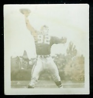 Sam Etcheverry 1956 Parkhurst football card