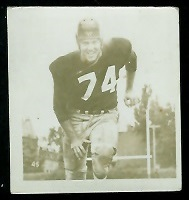 Doug McNichol 1956 Parkhurst football card