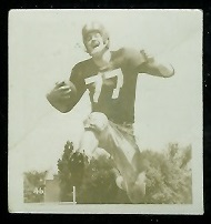 Tom Moran 1956 Parkhurst football card