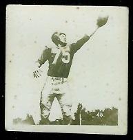 Hal Patterson 1956 Parkhurst football card
