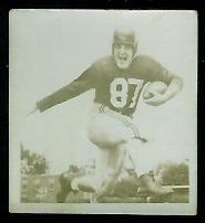 Jacques Belec 1956 Parkhurst football card