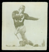 Pat Abbruzzi 1956 Parkhurst football card