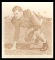 Bob Dean 1956 Parkhurst football card