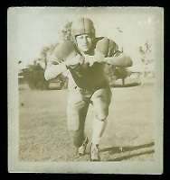 Ted Tully 1956 Parkhurst football card