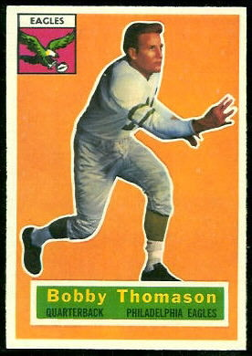 Bobby Thomason 1956 Topps football card