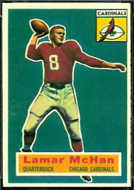 Lamar McHan 1956 Topps football card