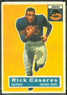 Rick Casares 1956 Topps football card