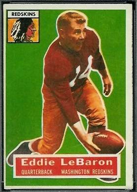 Eddie LeBaron 1956 Topps football card