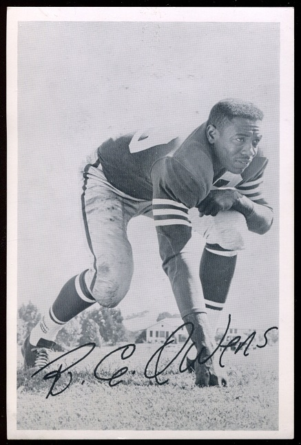 R.C. Owens 1957 49ers Team Issue football card