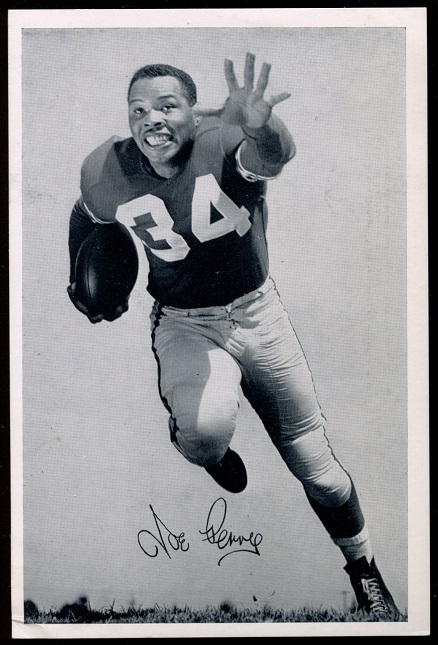 Joe Perry 1957 49ers Team Issue football card