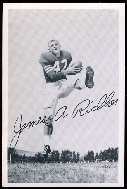 Jim Ridlon 1957 49ers Team Issue football card