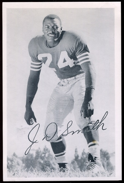 J.D. Smith 1957 49ers Team Issue football card