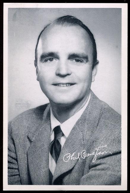 Phil Bengtson 1957 49ers Team Issue football card