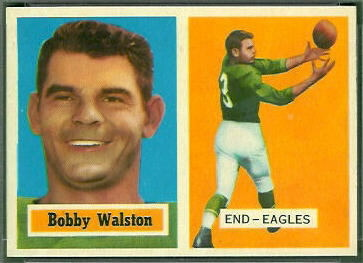 Bobby Walston 1957 Topps football card