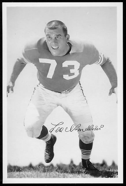 Leo Nomellini 1958 49ers Team Issue football card