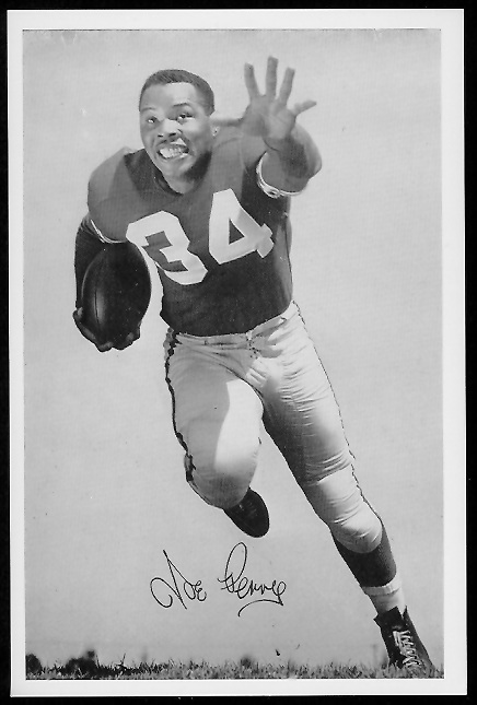 Joe Perry 1958 49ers Team Issue football card