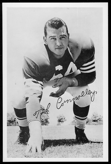 Ted Connolly 1958 49ers Team Issue football card