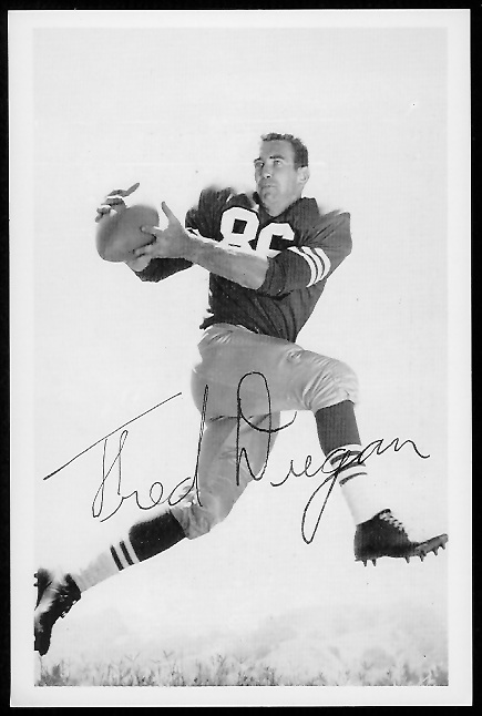 Fred Dugan 1958 49ers Team Issue football card