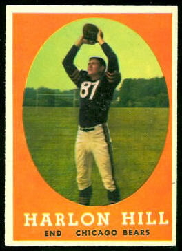 Harlon Hill 1958 Topps football card