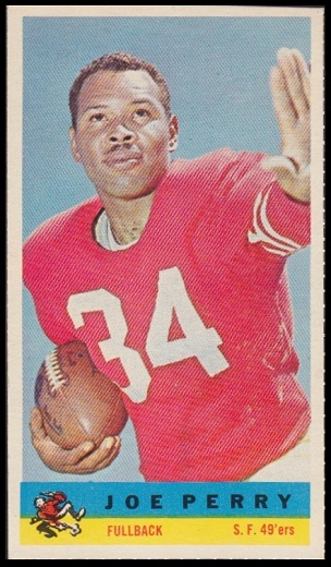 Joe Perry 1959 Bazooka football card
