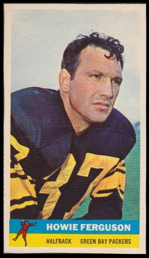 Howard Ferguson 1959 Bazooka football card