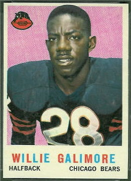 Willie Galimore 1959 Topps football card