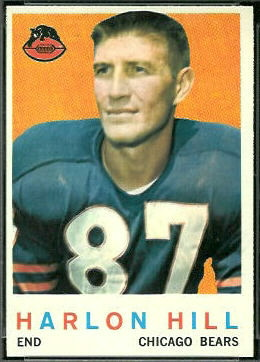 Harlon Hill 1959 Topps football card