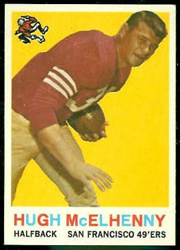 Hugh McElhenny 1959 Topps football card