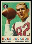 1959 Topps CFL Russ Jackson