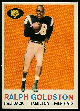 Ralph Goldston 1959 Topps CFL football card