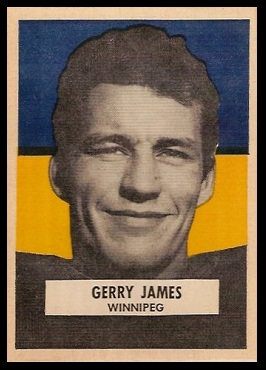 Gerry James 1959 Wheaties CFL football card